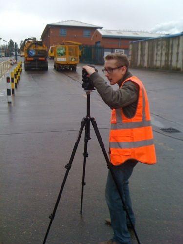 Film shoot holland alexander